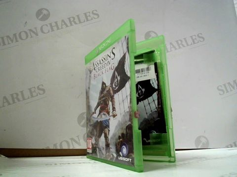 Lot 8045 ASSASSIN'S CREED IV: BLACK FLAG XBOX ONE GAME