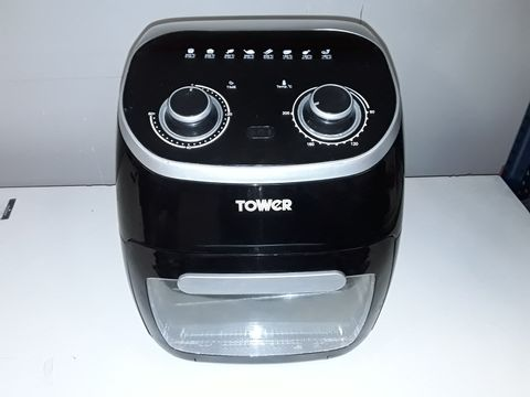 Lot 1117 TOWER T17038 MANUAL AIR FRYER OVEN, 11 LITRE