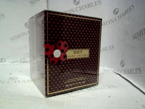 Lot 5047 BRAND NEW AND SEALED MARC JACOBS DOT EDP 50ML