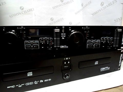Lot 761 NUMARK CDN77USB – PROFESSIONAL DUAL USB AND MP3 CD PLAYER FOR PROFESSIONAL DJ USE