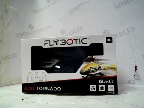 Lot 109 SILVERLIT FLYBOTIC AIR TORNADO INDOOR RC HELICOPTER