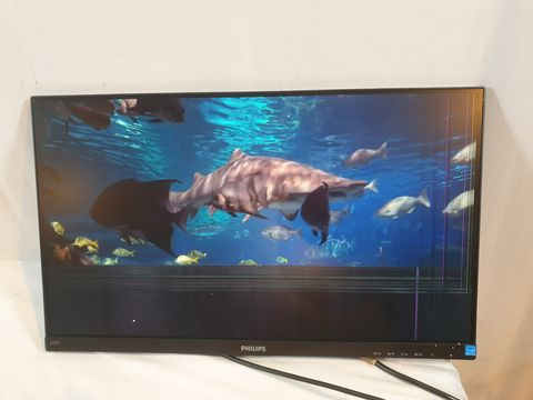 Lot 632 PHILIPS 243V7QJABF 23.8-INCH IPS FULL HD MONITOR WITH SPEAKERS - BLACK