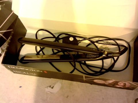 Lot 12067 REMINGTON PROLUXE MIDNIGHT EDITION HAIR STRAIGHTENERS
