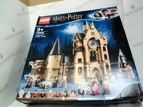 Lot 5010 LEGO HARRY POTTER 75948 HOGWARTS CLOCK TOWER SET RRP £109.99