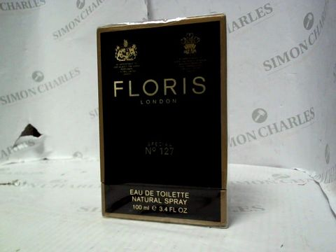 Lot 5006 BRAND NEW AND SEALED FLORIS LONDON SPECIAL NO 127 EDT 100ML