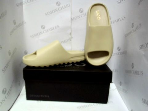 Lot 13077 BOXED PAIR OF DESIGNER EGO SLIDES - UK SIZE 7