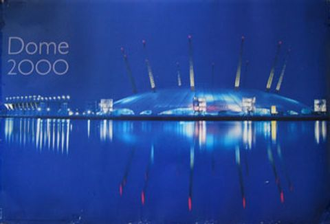 Lot 1 LARGE QUANTITY OF DOME 2000 POSTERS