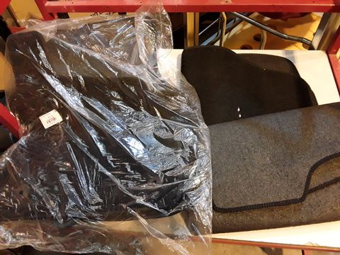 Lot 47 THREE BLACK CARPET SETS