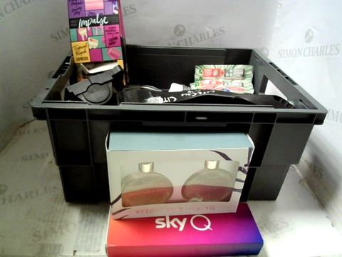 Lot 600 LOT OF ASSORTED ITEMS TO INCLUDE SKY REMOTE, DIFFUSERS ETC