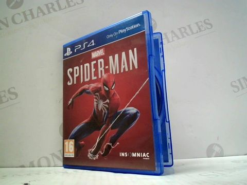 Lot 3153 MARVEL SPIDER-MAN  PLAYSTATION 4 GAME