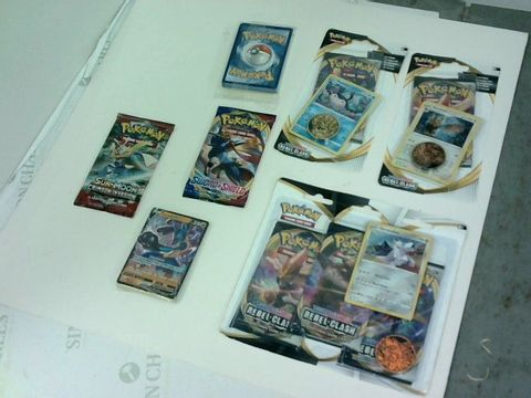 Lot 6089 LOT OF APPROXIMATELY 7 ASSORTED SEALED PACKS OF POKEMON CARDS