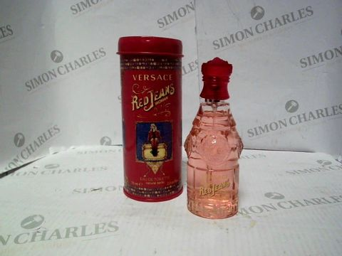 Lot 7237 VERSACE RED JEANS WOMAN EDP 75ML