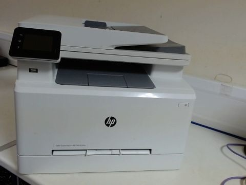Lot 8517 HP COLOUR LASERJET PRO M283FDW MULTI-FUNCTION PRINTER