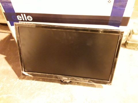 """Lot 2415 CELLO 20"""" WIDE SCREEN LED TV WITH DVB AND DVD"""