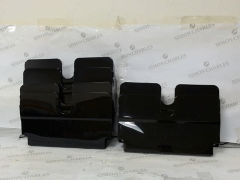 Lot 395 WALL MOUNTED PLASTIC FILE HOLDERS