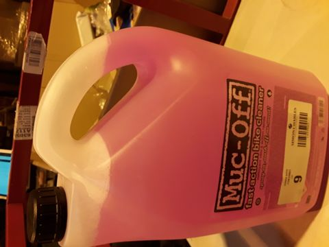 Lot 9 5L MUC-OFF FAST ACTION BIKE CLEANER