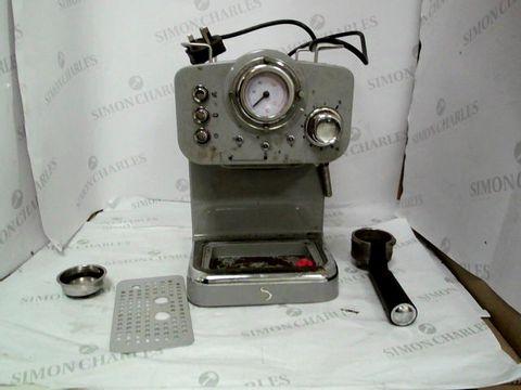 Lot 9053 SWAN SK22110GRN, RETRO PUMP ESPRESSO COFFEE MACHINE