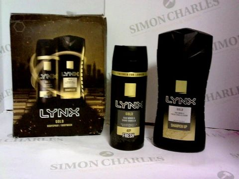 Lot 6034 LYNX GOLD GIFT BOX