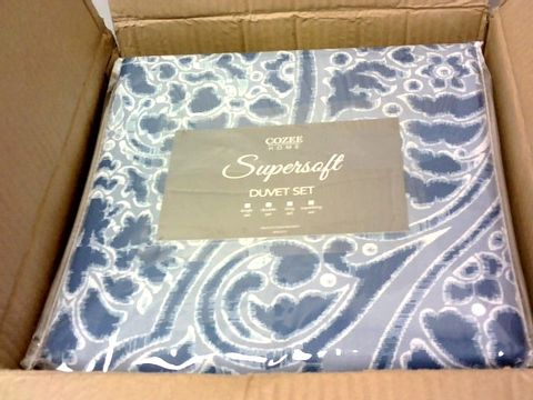 Lot 8049 SUPERSOFT BY COZEE HOME BRIELLE DUVET SET