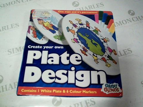 Lot 4712 CREATE YOUR OWN PLATE DESIGN