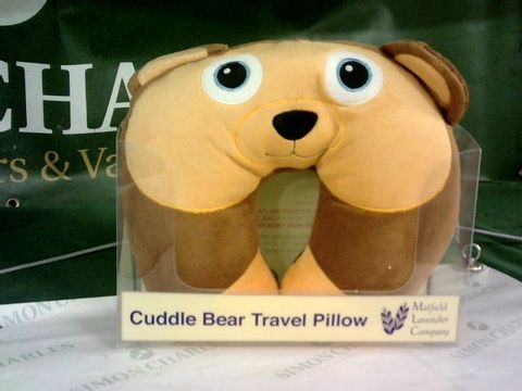 Lot 8135 CUDDLE BEAR TRAVEL PILLOW