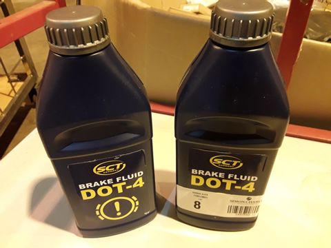Lot 8 2 × SCT DOT-4 BRAKE FLUID 910g