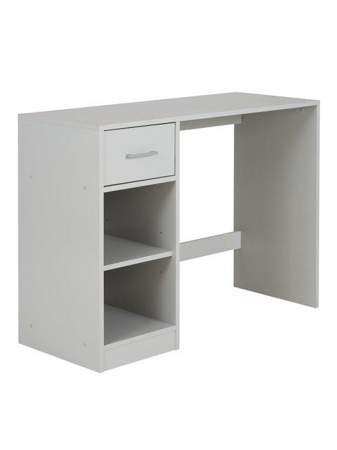 Lot 1046 HOME ESSENTIALS METRO DESK - WHITE RRP £59.99
