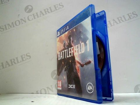 Lot 3032 BATTLEFIELD 1 PLAYSTATION 4 GAME