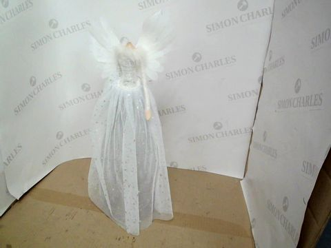 Lot 3597 50CM BATTERY OPERATED WHITE ANGEL RRP £37.99