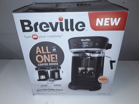 Lot 1100 BREVILLE ALL IN ONE COFFEE HOUSE MACHINE