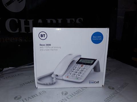 Lot 8248 BT DECOR 2600 PHONE