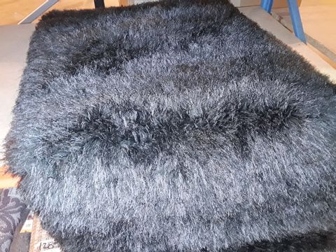 Lot 10271 DESIGNER ORIGIN EXTRAVAGANCE GREY RUG 80 × 150