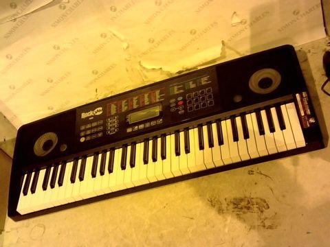 Lot 12638 ROCKJAM RJ761-SK KEY ELECTRONIC INTERACTIVE TEACHING PIANO KEYBOARD