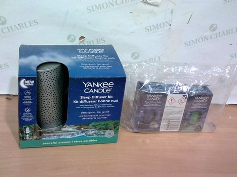 Lot 4044 YANKEE CANDLE SLEEP DIFFUSER STARTER KIT
