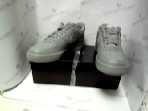 Lot 13055 BOXED PAIR OF DESIGNER NIKE AIR FORCE 1- UK SIZE 7