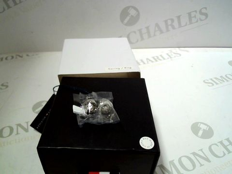 Lot 713 TOMMY HILFIGER STAINLESS STUD EARRINGS RRP £40.00