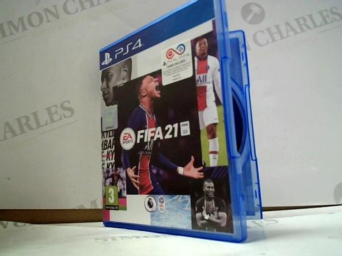 Lot 8010 FIFA 21 PLAYSTATION 4 GAME