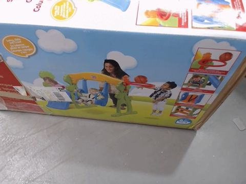 Lot 1507 GROWN UP 2-IN-1 SLIDE TO BASKETBALL RRP £129.99