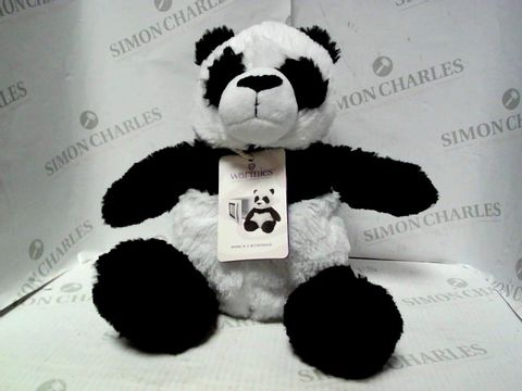 Lot 7443 WARMIES PANDA HEATED TEDDY
