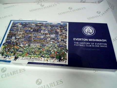Lot 140 EVERTON MISHMASH JIGSAW
