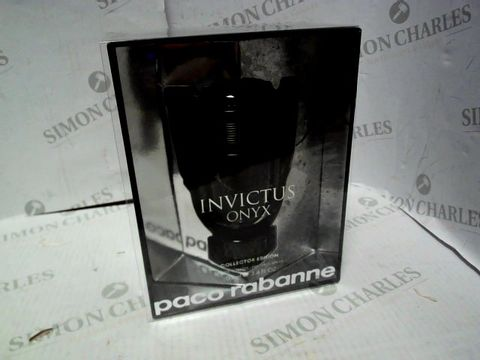 Lot 8071 PACO RABANNE INVICTUS ONYX COLLECTOR EDITION 100ML EDT