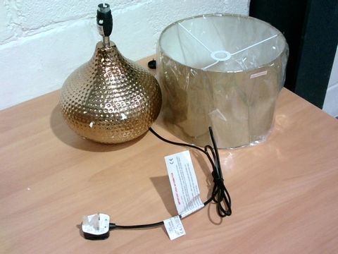 Lot 805 MARLEE CURVE TABLE LAMP BRONZE RRP £49.99