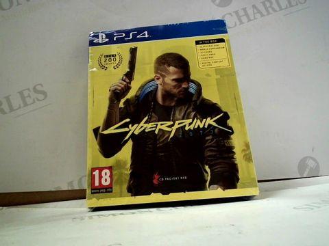 Lot 8012 CYBERPUNK 2077 PLAYSTATION 4 GAME