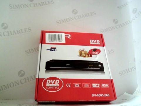 Lot 7518 KCR DV-6605 DVD PLAYER