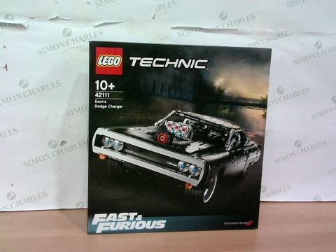 Lot 2278 SEALED LEGO TECHNIC FAST & FURIOUS 42111 DOM'S DODGE CHARGER