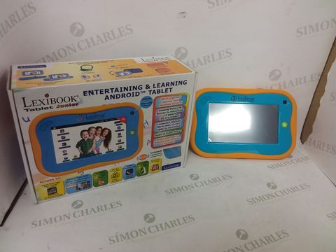 Lot 12429 BOXED LEXIBOOK JUNIOR ENTERTAINING & LEARNING ANDROID TABLET