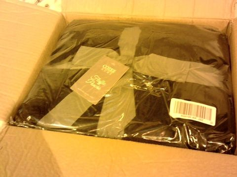 Lot 1074 COZEE HOME FLUFFY PONCHO IN BLACK