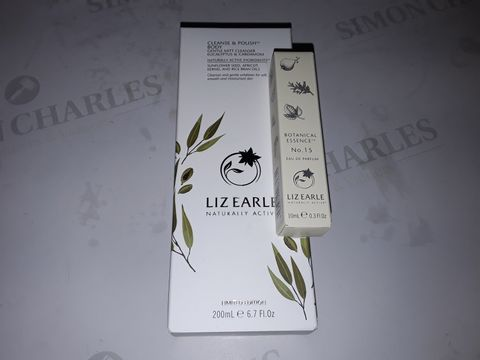 Lot 8431 LIZ EARLE CARDAMOM & EUCALYPTUS BODY CLEANSE & POLISH WITH FRAGRANCE