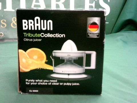 Lot 1090 BRAUN TRIBUTE COLLECTION CITRUS JUICER