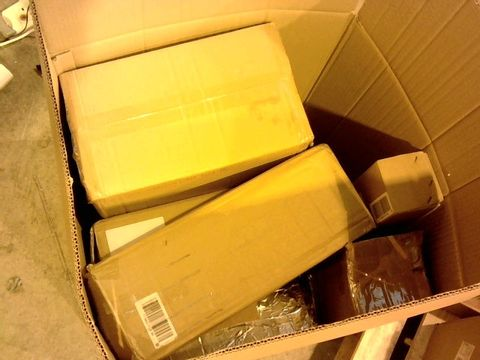 Lot 1610 LOT OF 10 ASSORTED BOXED HOUSEHOLD ITEMS TO INCLUDE CHRISTMAS DECORATION AND LIGHTING ITEMS